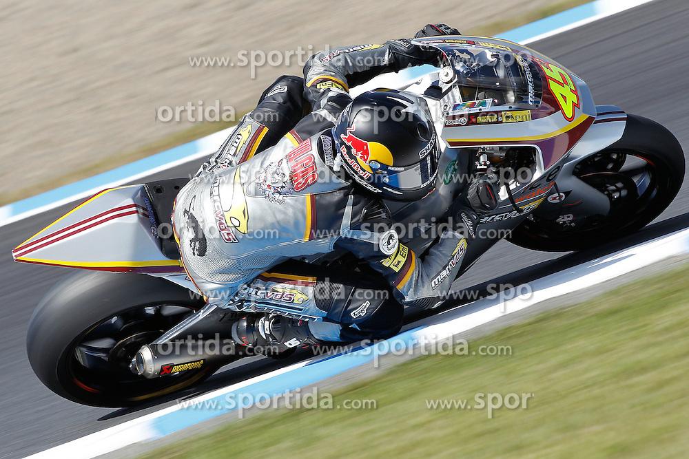 02.10.2010, Motegi, JPN, MotoGP, Grand Prix of Japan, im Bild Scott Redding - Marc VDS racing team. EXPA Pictures © 2010, PhotoCredit: EXPA/ InsideFoto/ Semedia +++++ ATTENTION - FOR AUSTRIA AND SLOVENIA CLIENT ONLY +++++