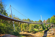 Liberty Bridge at Reedy Falls Park - Downtown Greenville, SC
