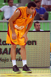 Vojdan Stojanovski of Macedonia at friendly match between Macedonia and BIH for Adecco Cup 2011 as part of exhibition games before European Championship Lithuania on August xx, 2011, in SRC Stozice, Ljubljana, Slovenia. (Photo by Urban Urbanc / Sportida)