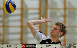 16.01.2011, Mehrzweckhalle, Ternitz, AUT, VOL, Testspiel, Austria vs ACH Volley Bled (SLO), im Bild Peter Wohlfahrtstätter, EXPA Pictures © 2011, PhotoCredit: EXPA/ S. Trimmel