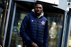 Daniel Edozie of Bristol Flyers arrives at SGS Wise Arena prior to kick off - Photo mandatory by-line: Ryan Hiscott/JMP - 06/12/2019 - BASKETBALL - SGS Wise Arena - Bristol, England - Bristol Flyers v Sheffield Sharks - British Basketball League Championship