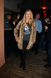 SARA PARKER-BOWLES at a party to celebrate the publication of Tom Sykes's book 'What Did I Do Last Night?' held at Centuary, Shaftesbury Avenue, London on 16th January 2007.<br />