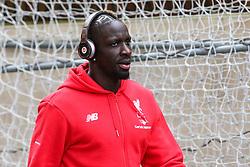 Mamadou Sakho of Liverpool arrives wearing Beats By Dre - Mandatory byline: Jason Brown/JMP - 07966386802 - 06/03/2016 - FOOTBALL - London - Selhurst Park - Crystal Palace v Liverpool - Barclays Premier League