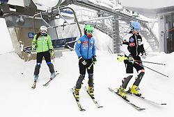 of Slovenia prior to the 1st Run of 50th Golden Fox Audi Alpine FIS Ski World Cup Ladies Slalom, on February 2, 2014 in Podkoren, Kranjska Gora, Slovenia. (Photo By Matic Klansek Velej / Sportida.com)
