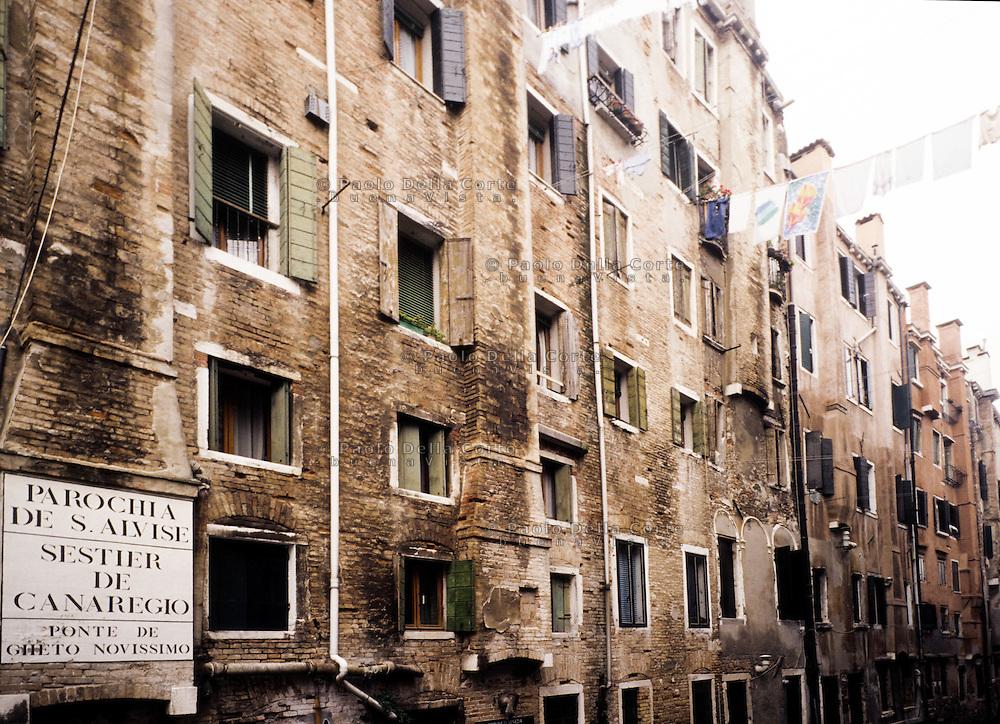 Venezia - Ghetto ebraico. Ghetto vecchio. Il Ghetto Novissimo.