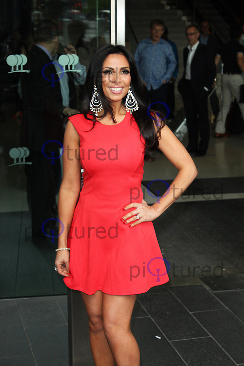 LONDON - July 03: Francine Lewis at the Arqiva Commercial Radio Awards 2013 (Photo by Brett D. Cove)