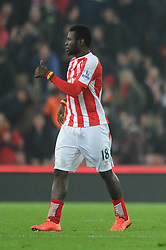 Stoke's Mame Biram Diouf - Photo mandatory by-line: Dougie Allward/JMP - Mobile: 07966 386802 - 29/10/2014 - SPORT - Football - Stoke - Britannia Stadium - Stoke City v Southampton - Capital One Cup - Fourth Round