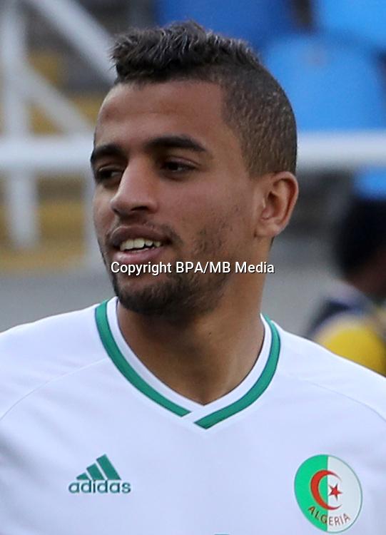 Fifa Men&acute;s Tournament - Olympic Games Rio 2016 - <br /> Algeria National Team -  <br /> Mohammed BENKHEMASSA