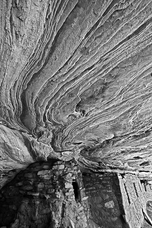 An Ancestral Puebloan (Anasazi) ruin on Cedar Mesa in Southern Utah.