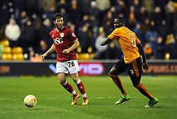 Adam Matthews of Bristol City - Mandatory byline: Dougie Allward/JMP - 08/03/2016 - FOOTBALL - Molineux Stadium - Wolverhampton, England - Wolves v Bristol City - Sky Bet Championship