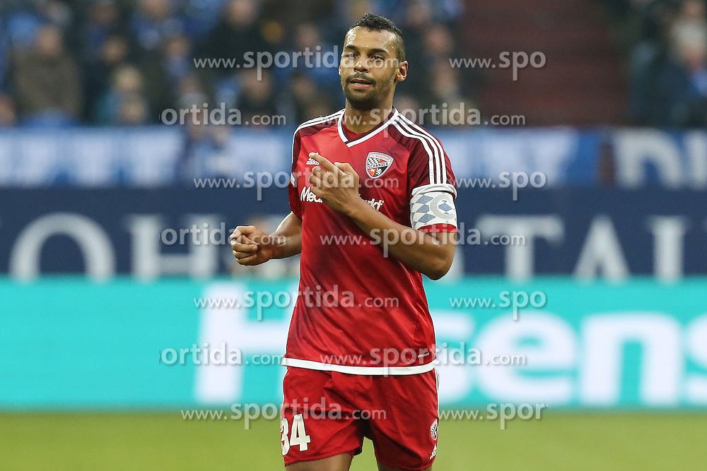 21.01.2017, Veltins Arena, Gelsenkirchen, GER, 1. FBL, Schalke 04 vs FC Ingolstadt 04, 17. Runde, im Bild Marvin Matip (#34, FC Ingolstadt 04) // during the German Bundesliga 17th round match between Schalke 04 and FC Ingolstadt 04 at the Veltins Arena in Gelsenkirchen, Germany on 2017/01/21. EXPA Pictures &copy; 2017, PhotoCredit: EXPA/ Eibner-Pressefoto/ Deutzmann<br /> <br /> *****ATTENTION - OUT of GER*****