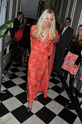 ASTRID HARBORD at a reception hosted by Beulah London and the United Nations to launch Beulah London's AW'11 Collection 'Clothed in Love' and the Beulah Blue Heart Campaign held at Dorsia, 3 Cromwell Road, London SW7 on 18th October 2011.