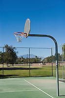 Playground basketball hoop