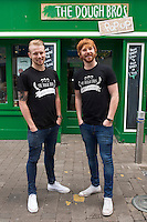Doug Bros Ronan and Eugene  Greaney who have a pizzeria on Abbeygate Street, Galway. Photo:Andrew Downes, xposure.