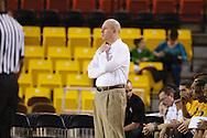 November 25th, 2010:  Anchorage, Alaska - Arizona State head coach Herb Sendek in the Sun Devil's 73-55 win over Houston Baptist at the Great Alaska Shootout.
