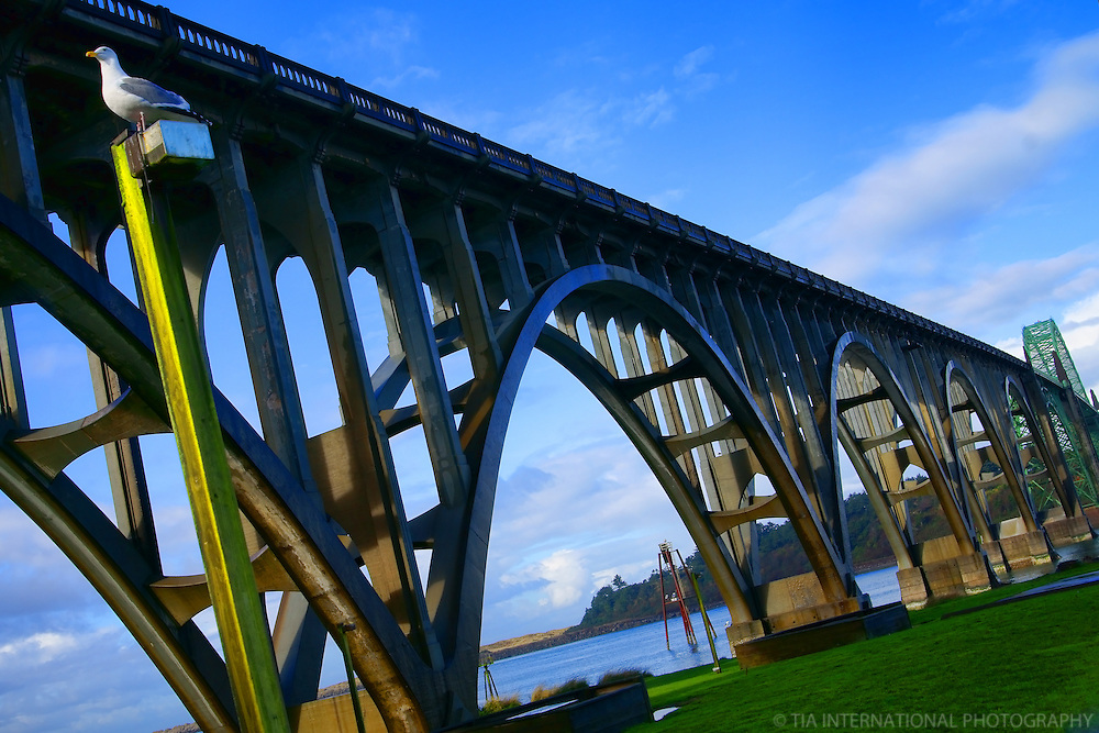 Yaquina Bay Bridge, Newport