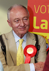 © Licensed to London News Pictures. 20/04/2015, Bradford, West Yorkshire. Former London Mayor and MP Ken Livingstone visits Bradford to support Labour candidate Naz Shah in the Bradford West constituency. Photo credit : Paul Thompson/LNP