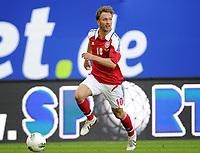 Fotball<br /> Privatlandskamp<br /> Danmark v Brasil<br /> 26.05.2012<br /> Foto: Witters/Digitalsport<br /> NORWAY ONLY<br /> <br /> Dennis Rommedahl (Daenemark)<br /> Fussball, Testspiel, Brasilien - Daenemark 3:1