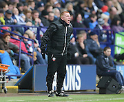 Neil lennon during before the Sky Bet Championship match between Bolton Wanderers and Brighton and Hove Albion at the Reebok Stadium, Bolton, England on 28 February 2015.
