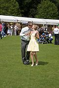 DIRK VAN BAVEL; VICTORIA EVANS, Hackett Rundle Cup 2008. Tidworth. 12 july 2008 *** Local Caption *** -DO NOT ARCHIVE-© Copyright Photograph by Dafydd Jones. 248 Clapham Rd. London SW9 0PZ. Tel 0207 820 0771. www.dafjones.com.