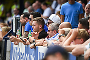 Leeds United fans during the Pre-Season Friendly match between Southend United and Leeds United at Roots Hall, Southend, England on 22 July 2018. Picture by Stephen Wright.