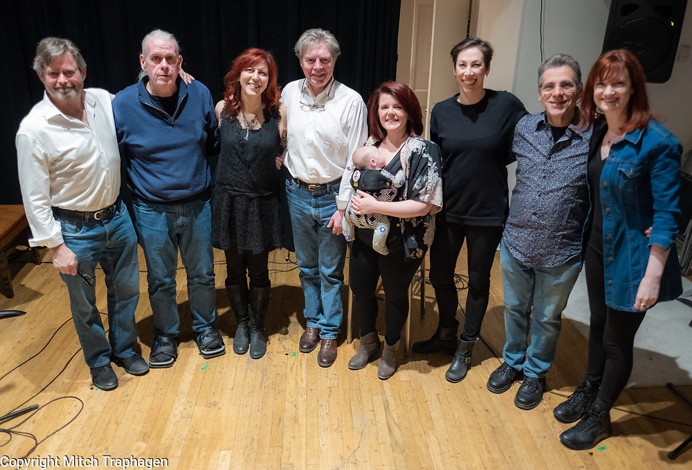 Artists Without Walls April 2018 Showcase featuring David Loughlin, Deni Bonet, Deborah Lohse, Joanne Shea, Charles R. Hale, Niamh Hyland and David S. Goldman. April 24, 2018 at the cell theatre in Manhattan
