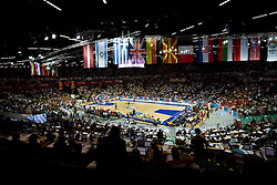 Arena Spodek during the EuroBasket 2009 Semi-final match between Spain and Greece, on September 19, 2009, in Arena Spodek, Katowice, Poland.  (Photo by Vid Ponikvar / Sportida)