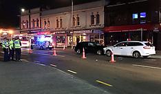 Auckland-Crash closes K'Road