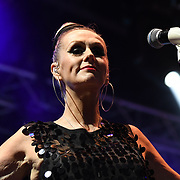 THE HUMAN LEAGUE perform live at Kew The Music Festival 2018 on 13 July 2018, London, UK.