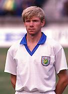 12.08.1992, Daugava Stadium, Riga, Latvia..FIFA World Cup qualifying match, Latvia v Lithuania..Jurijs Sevlakovs - Latvia.©Juha Tamminen