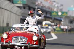 March 17, 2019 - Melbourne, Australia - Motorsports: FIA Formula One World Championship 2019, Grand Prix of Australia, ..#99 Antonio Giovinazzi (ITA, Alfa Romeo Racing) (Credit Image: © Hoch Zwei via ZUMA Wire)