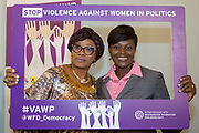 'Violence Against Women in Politics' Conference, organised by all the UK political parties in partnership with the Westminster Foundation for Democracy, 19th and 20th of March 2018, central London, UK.  (Please credit any image use with: © Andy Aitchison / WFD