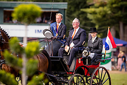 DodderGold medal, Chardon Bram, NED, Floriano, Freddy, Generaal, Incitato Pandur, Roderick , Aerts Ad<br /> Prizegiving FEI rider of the year<br /> Driving European Championship <br /> Donaueschingen 2019<br /> © Hippo Foto - Dirk Caremans<br /> Gold medal, Chardon Bram, NED, Floriano, Freddy, Generaal, Incitato Pandur, Roderick , Aerts Ad