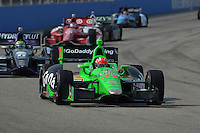 James Hinchcliffe, Milwaukee IndyFest, Milwaukee Mile, West Allis, WI USA 06/15/13