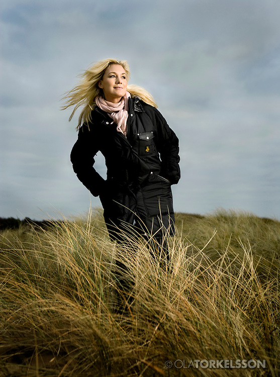 Swedish singer Jessica Andersson for Volkswagen.<br /> Photo Ola Torkelsson<br /> Copyright Ola Torkelsson &copy;