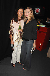 Left to right, PIA MAROCCO and ALLEGRA HICKS at a party to celebrate the launch of the new Fiat Bravo held at The Roundhouse Theatre, Chalk Farm Road, London on 13th June 2007.<br /><br />NON EXCLUSIVE - WORLD RIGHTS