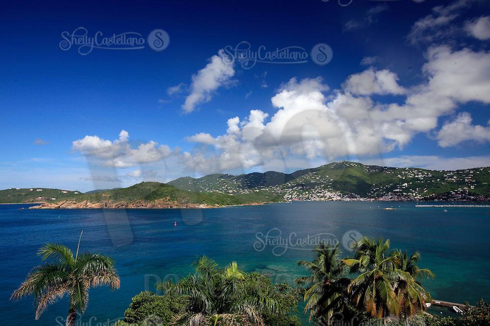 September 2008: St. Thomas US Virgin Islands beach scenes.  Stock photos available.