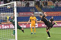Gol Edin Dzeko Roma 2-0 Goal celebration<br /> Roma 16-09-2017 Stadio Olimpico Calcio Serie A 2017/2018 AS Roma - Verona Foto Andrea Staccioli / Insidefoto