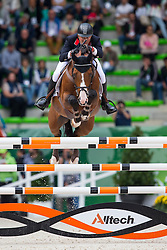 Joe Clee, (GBR), Utamaro D Ecaussines - Team & Individual Competition Jumping Speed - Alltech FEI World Equestrian Games™ 2014 - Normandy, France.<br /> © Hippo Foto Team - Leanjo De Koster<br /> 02-09-14