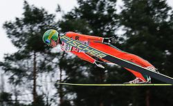 04.01.2014, Bergisel Schanze, Innsbruck, AUT, FIS Ski Sprung Weltcup, 62. Vierschanzentournee, Probesprung, im Bild Ilmir Hazetdinov (RUS) // Ilmir Hazetdinov of Russia during Trial Jump of 62nd Four Hills Tournament of FIS Ski Jumping World Cup at the Bergisel Schanze, Innsbruck, Austria on 2014/01/04. EXPA Pictures © 2014, PhotoCredit: EXPA/ Peter Rinderer