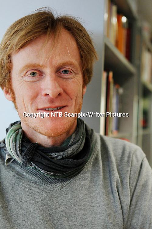 Oslo  20110320.<br /> Direkt&macr;ren for Den norske bokdatabasen, Edmund Austigard, ser fram til lanseringen av e-boktjenesten Bokskya.<br /> Foto: Erlend Aas / Scanpix<br /> <br /> NTB Scanpix/Writer Pictures<br /> <br /> WORLD RIGHTS, DIRECT SALES ONLY, NO AGENCY