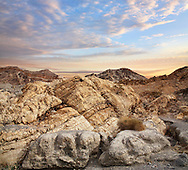 Metamorphic Rock Near The Entrance To Marble Canyon In Death Valley National Park, California, USA