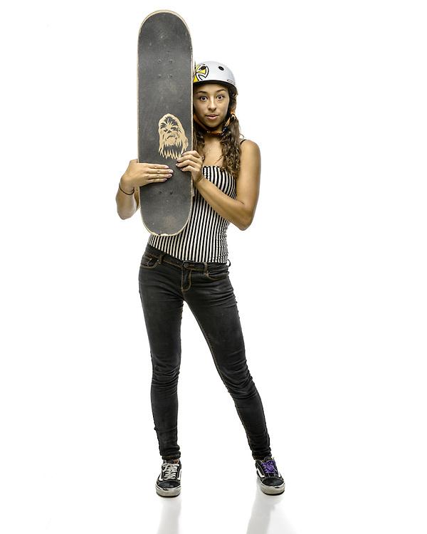Lizzie Armanto, pro skateboarder