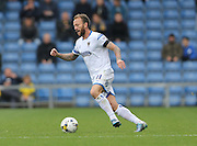 AFC Wimbledon midfielder Sean Rigg (11) in action during the Sky Bet League 2 match between Oxford United and AFC Wimbledon at the Kassam Stadium, Oxford, England on 10 October 2015.