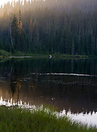 Sunset at Reflection Lake, Mt. Raineir NP