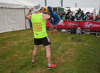 Antony Audenshaw is an English actor, best known for his role as Bob Hope on the popular ITV1 soap Emmerdale photographed at the celebrity start of the Virgin Money London Marathon 2015, Sunday 26th April 2015<br /> <br /> Roger Allen for Virgin Money London Marathon<br /> <br /> For more information please contact Penny Dain at pennyd@london-marathon.co.uk