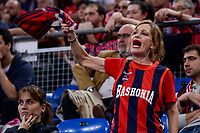 Baskonia's  supporter during Semi Finals match of 2017 King's Cup at Fernando Buesa Arena in Vitoria, Spain. February 18, 2017. (ALTERPHOTOS/BorjaB.Hojas)