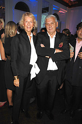 DIMITRIS & KETTY KOUTSOLIOUTOS new owners of Lins of London  at a party to launch Links of London's Watch Collection at Il Bottacio, 9 Grosvenor Place, London on 25th September 2007.<br />