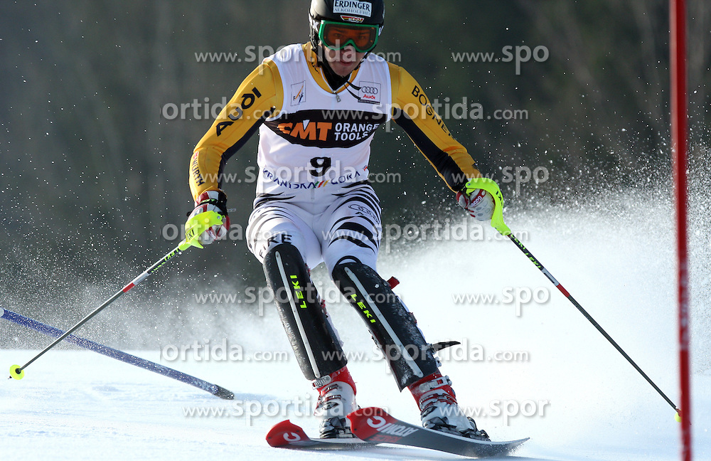 Felix Nureuther at 9th men's slalom race of Audi FIS Ski World Cup, Pokal Vitranc,  in Podkoren, Kranjska Gora, Slovenia, on March 1, 2009. (Photo by Vid Ponikvar / Sportida)