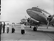 Blessing of the Fleet at Dublin Airport - Aer Lingus .31/05/1958 .
